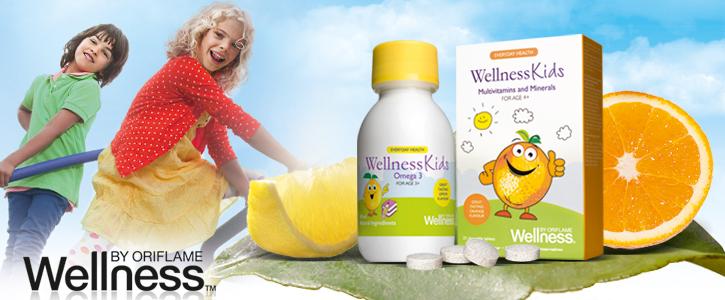 Мультивитамины и минералы Wellness Kids