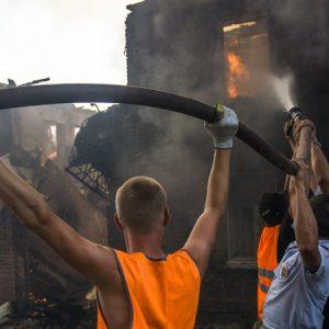 Беспредельные пожары в Ростове-на-Дону