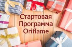 Стартовая программа Орифлейм для новичков 2017-2018 в России